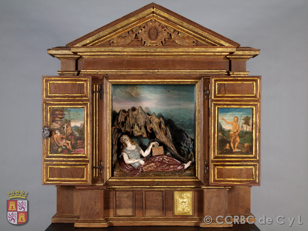 altar de santa maria egipciaca
